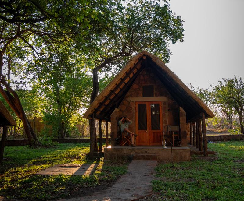 bumbusi wilderness camp hwange national park chalet accommodation